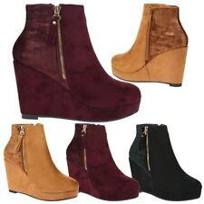 Women's Synthetic Wedge High (3-4.5 in.) Heels