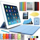 Ultra-Slim! iPad 2 & 3 & 4 Schutz Hülle+Folie Smart Cover Tasche Case Etui 9-F★