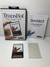 TRANSBOT Sega Card Master System Ariola Soft Deutsche Version komplett