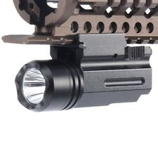 New Tactical Flashlight for Glock 17 19 20 21 22 23 with 20mm Weaver Rail Optics