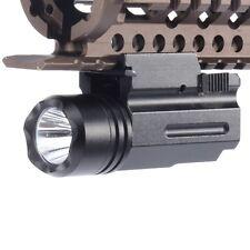 Linterna Led Táctica apto para 4 pistola Glock 17 19 20 21 22 23 30 31 35 37 38
