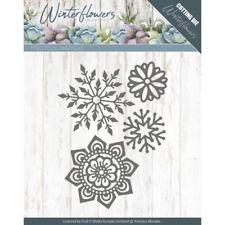 Stanzschablone für Stanzmaschine Precious Marieke  Winter Flowers - Ice flowers