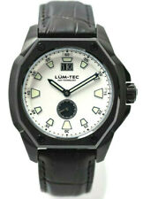 Lum-Tec Watch V10 Mens White Dial Big Date Limited Edition Of 50 AUTH DEALER