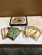 Anheuser-Busch Bottled Beers Playing Cards Tin Box