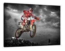 Andreas Lettenbichler KTM 30x20 pouces Toile-Enduro Moto X Encadrée PHOTO PRINT