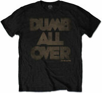 FRANK ZAPPA Dumb All Over BLACK T-SHIRT OFFICIAL MERCHANDISE