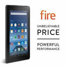 Nuovo Amazon Kindle Fire 7 inch 8GB Wi-Fi Tablet-Nero - 5 ° GEN!!!