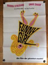Funny Girl (Kinoplakat '69) - Barbra Streisand / Omar Sharif
