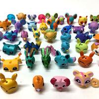 Random 20Pcs Animal Jam Adopt A Pet Rare mini figures toy Xmas Gift no repeat