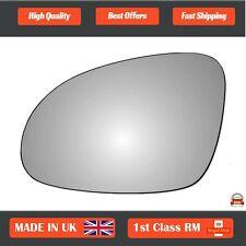 Volkswagen Passat B6 2005-2015 Left Passenger Side Convex wing mirror glass 2LS