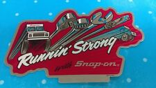 Snap On Running Strong For Tool Box - Bumper - Hot Rod Mechanics Shop