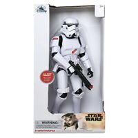DISNEY Star Wars Talking Stormtrooper Action Figure Movie Phrases Lights  *NEW**