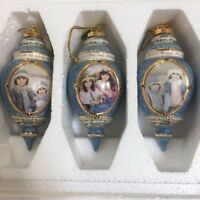 Bradford Chantal Poulin Ornaments Shared Moments Sisters Heirloom Christmas (3)