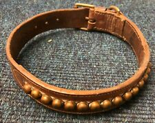 Antique studded Dog Collar, very rare