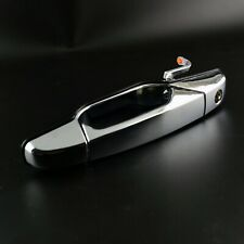 1pc External Outer Door Handle Front Left Outer Fit for Silverado 1500 Chrome