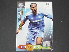 DIDIER DROGBA CHELSEA BLUES UEFA PANINI CARD FOOTBALL CHAMPIONS LEAGUE 2011 2012