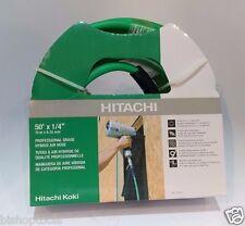 """Hitachi 115320 Professional Grade Hybrid Air Hose, 1/4"""" x 50'"""