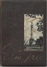 1946 HILLHOUSE HIGH SCHOOL YEARBOOK, THE ELM TREE, NEW HAVEN, CONNECTICUT