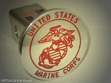 hitch cover,usmc red ,tahoe,expedition supercrew,ford,MARINES
