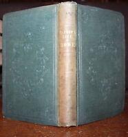 1838 Life of Richard Earl HOWE General Marines Admiral Fleet Barrow 1st Edition