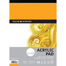 Daler Rowney Simply Acrylic Pad - A4