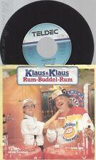 "7"" KLAUS & KLAUS -- RUM BUDDEL RUM"