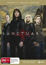 Sanctuary : Season 1 Special Edition (DVD, 2010, 5-Disc Set) New  Region 4
