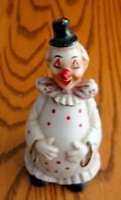 Circus Clown Porcelain Handbell Excellent!