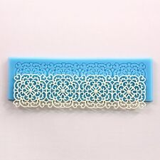 Lace Silicone Floral Mold Mould Sugar Craft Cake Decorating Cupcake Baking Tool