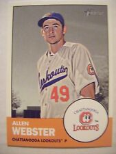 ALLEN WEBSTER 2012 Topps Heritage Minors baseball card #193 RED SOX DBACK KOREAN