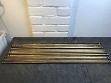 Set Of 15 Reclaimed heavy Brass Stair Rods cone ends 76cm X 12mm