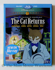 Studio Ghibli The Cat Returns Blu-ray DVD Anne Hathaway Cary Elwes Kristen Bell