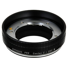 Fotodiox Pro Lens Adapter Contax G Rangefinder Lens to Canon EOS M