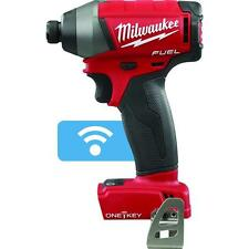 "NEW 2757-20 M18 FUEL w/ONE KEY 18 Volt Brushless 1/4"" Cordless Impact Driver Hex"