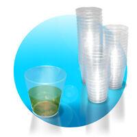 40/80/120/160 Schnapsbecher Kunststoff 2 cl mit Eichstrich klar Schnapsglas