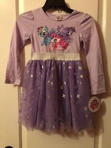 NWT My Little Pony girl dress size 6 NEW