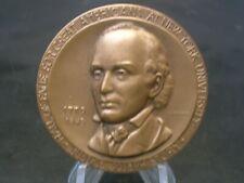 New listing Joseph Story Channing Nyu Hall Of Fame Bronze Medal - Medallic Art Company