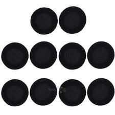 10pcs 65mm Replacement Foam Ear Pad Cushion Headphone Cover for Headset 2.6""