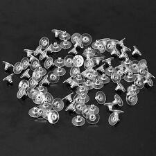 Gold/Silver 100pcs Earring Backs Stoppers Findings Stud Ear Post Nuts Findings