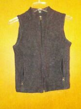 Ibex Charcoal Vest Size S Fits More Like an Xs