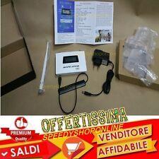 RIPETITORE SEGNALE GSM 930 MHZ CON ANTENNA ESTERNA LCD RDX-GSM902A9