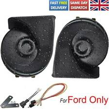 For Ford Fiesta Focus Kuga Modeo S-Max B-Max C-Max Snail Horn Dual Pitch Loud UK