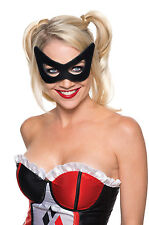 New Licensed Adult Harley Quinn Mask Costume Facemask Eyemask