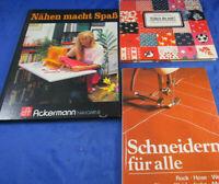 3 Schneiderbücher -Für Kinder, für Alle Verlag für die Frau Schneiderin Hobby