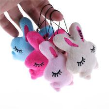 2pcs Cute Kids Baby Plush Toy Cartoon Rabbit Embrace Heart Stuffed Toy、New