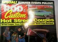Rod & Custom Magazine 1995 June Hot Street Coupes Big Block '41 Willys