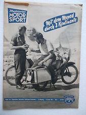 Illustrierter Motorsport 1961/1.ADMV.Typenblatt MZ 125/3 Ostalgie.DDR