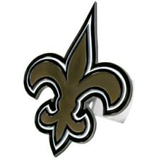 NEW NFL NEW ORLEANS SAINTS TEAM LOGO - DIE CUT 3D LOGO LARGE TRUCK HITCH COVER