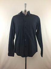The Original Ben Sherman Mens Long Sleeve Button Front Shirt Size M