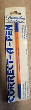 BAUMGARTEN'S CORRECT-A-PEN MADE IN GERMANY BY KREUZER NEW IN PACKAGE